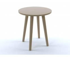 Basic oak stool