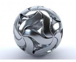 Decorative metal ball