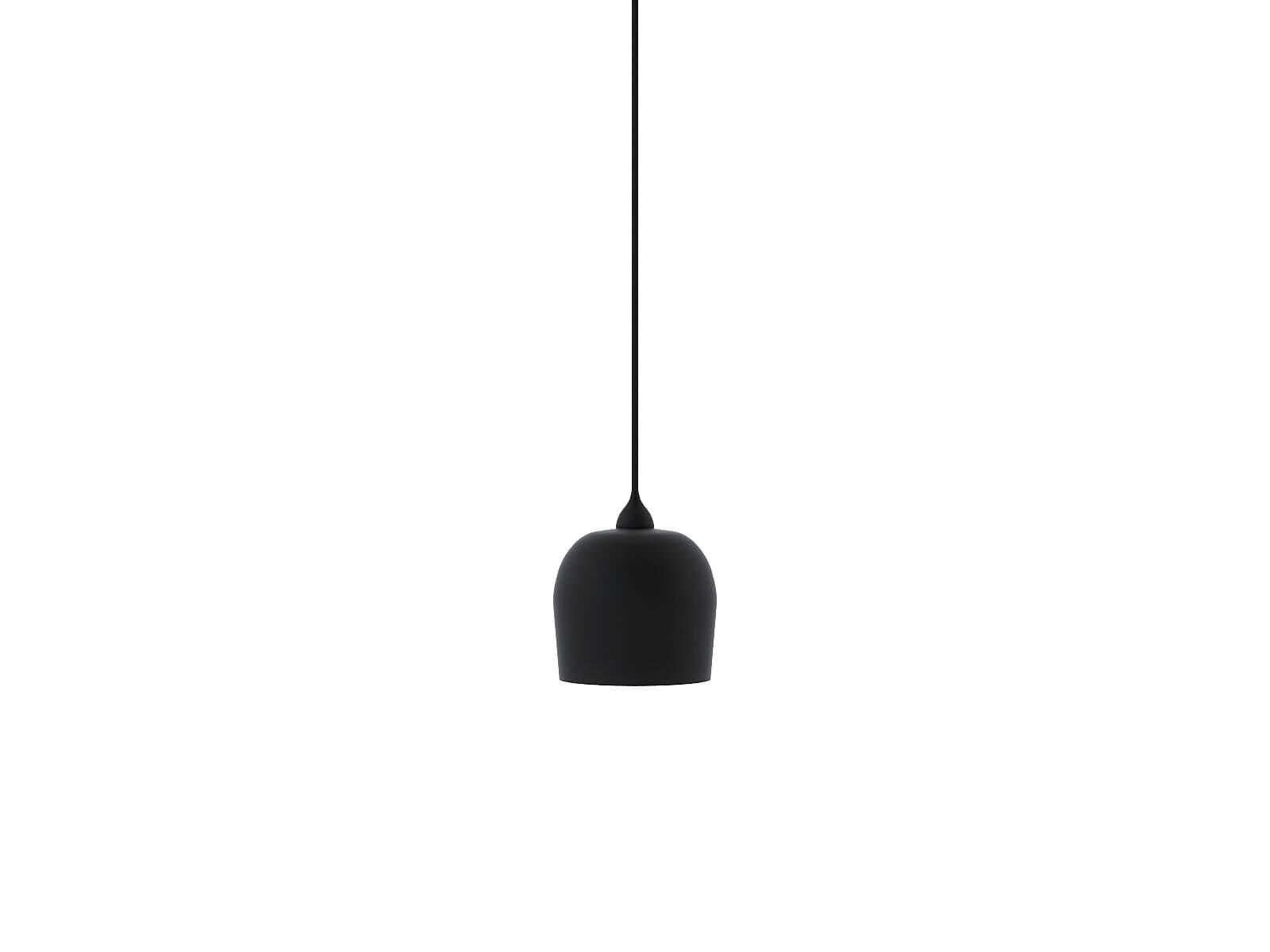 Black suspension lamp