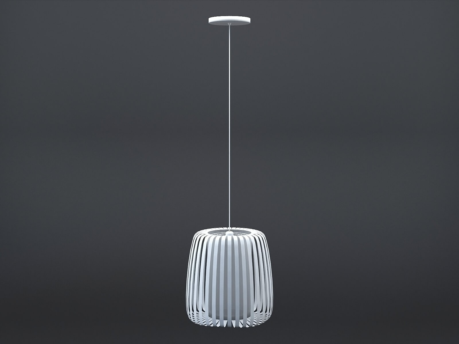 White Polly suspension lamp
