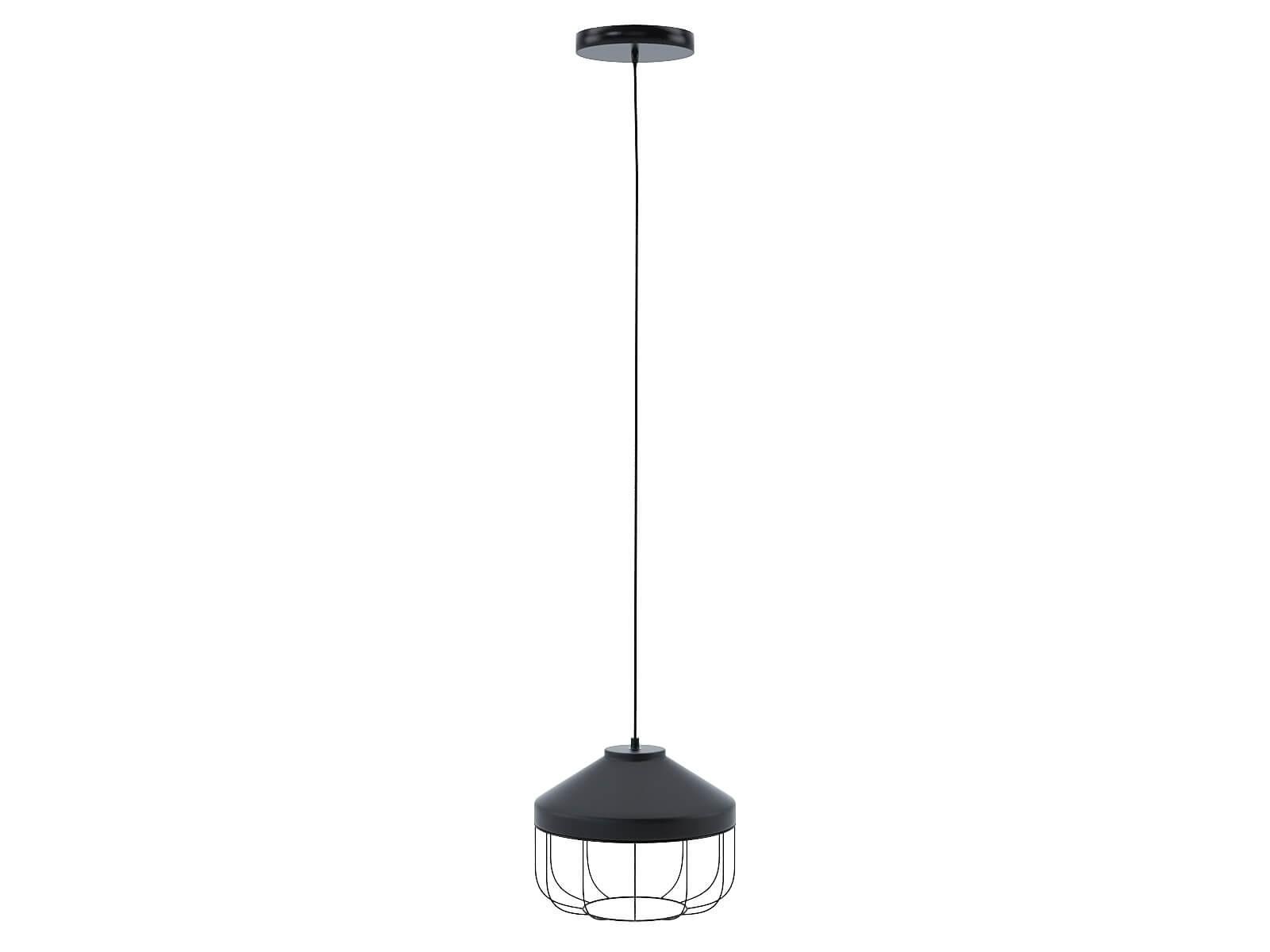 Black Arthur suspension lamp