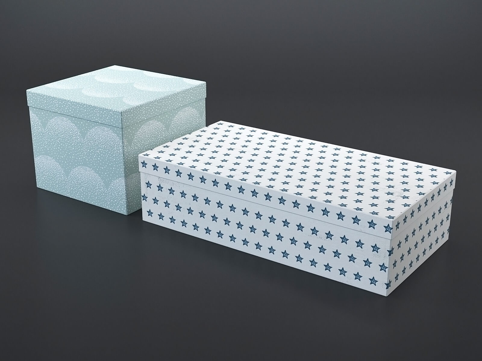 Decorative box (set of 2)
