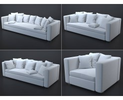 Collection 1 : white sofas