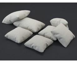 Beige fabric cushion (set of 7)