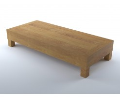 Wood living room coffee table (2)