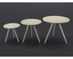 Orion coffee tables (set of 3)