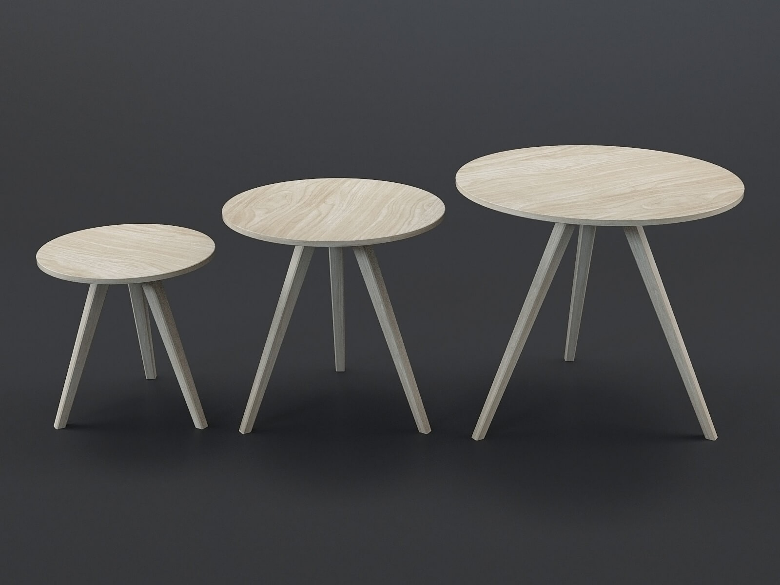 Tables basses Orion (lot de 3)