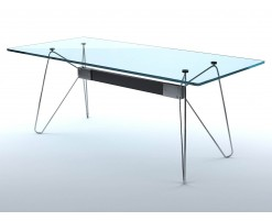 Tables en verre (lot de 2)