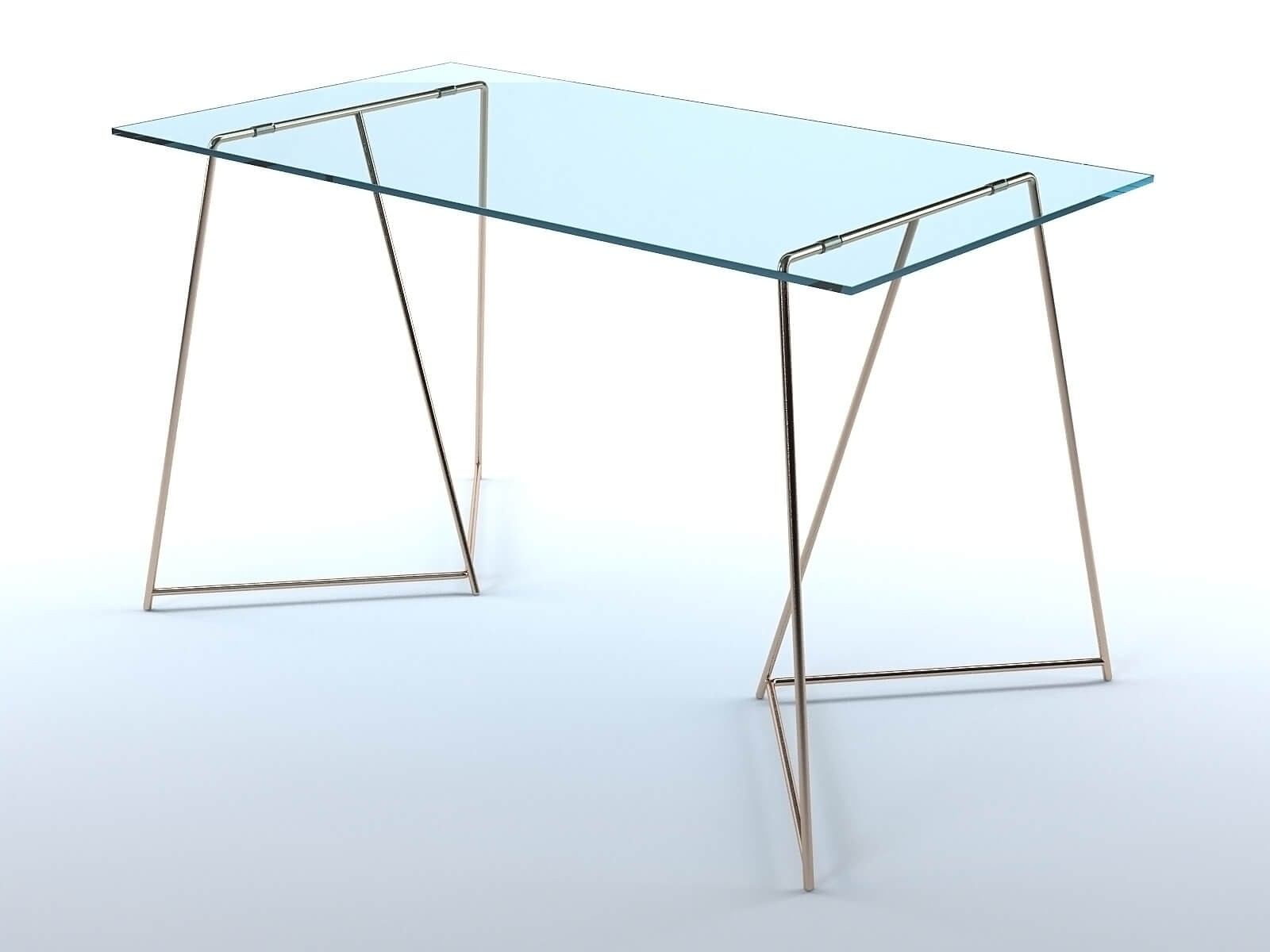 Patrizia glass table