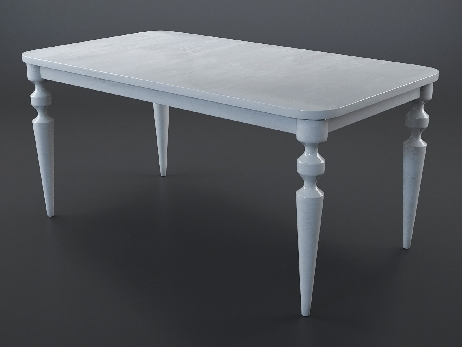 Betty painted wood table