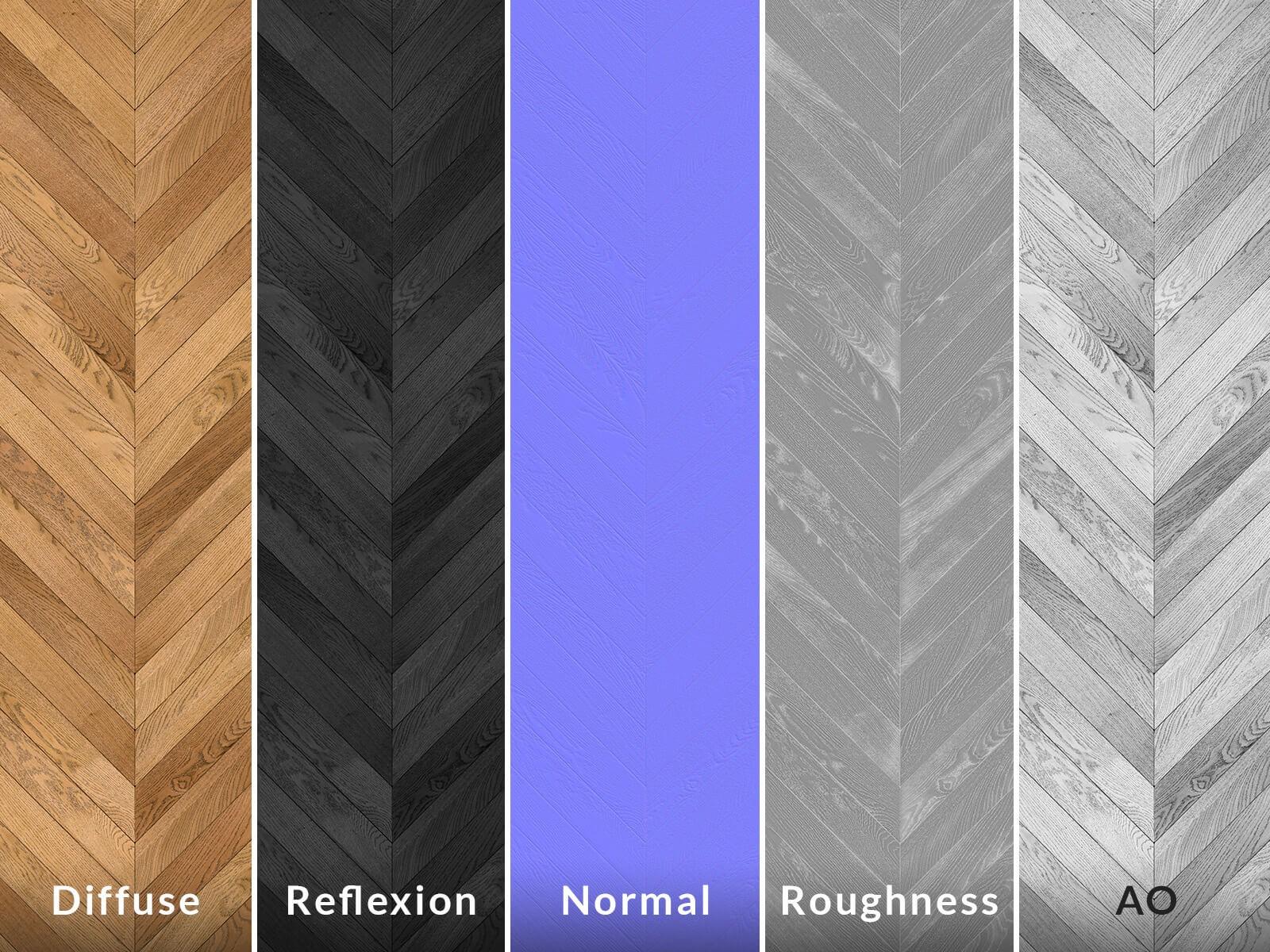 Texture parquet en bois 8