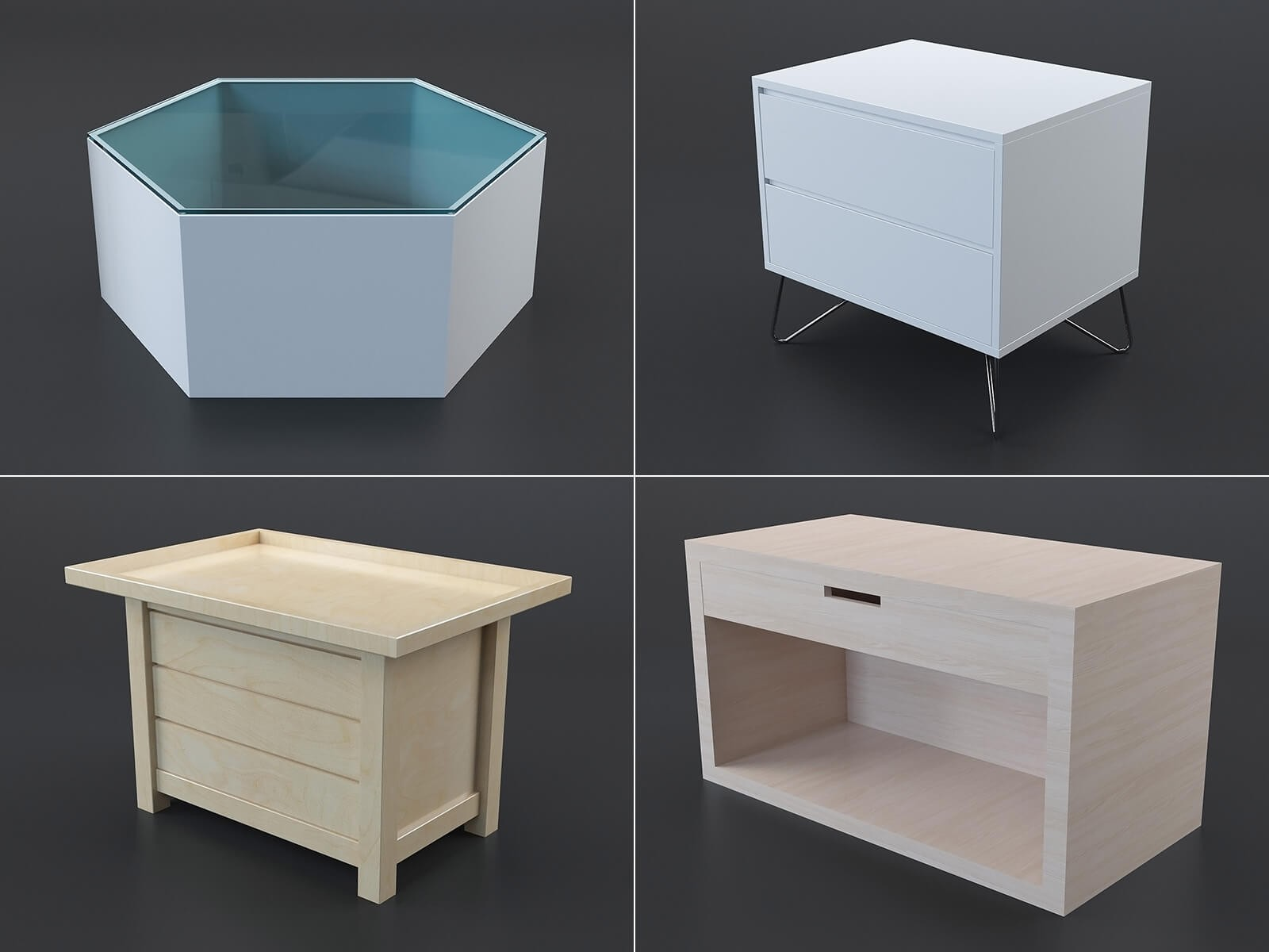 Coffee tables collection