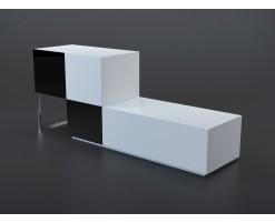 Buffet noir et blanc 2