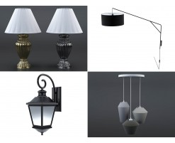 Collection Lampes (lot de 30)