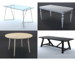 Collection tables (lot de 8)