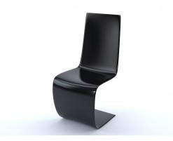 Chaise S noir