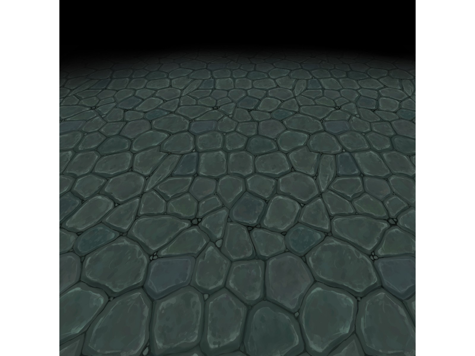 Stone floor texture 2 (hand painted)