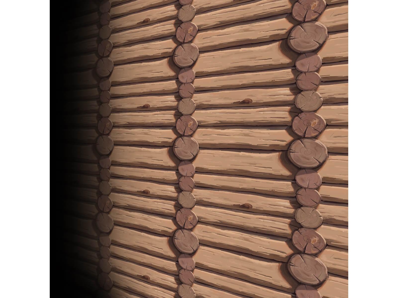 Texture bois 3 (peinte à la main)