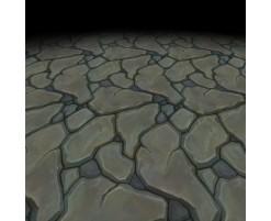 Texture sol en pierre 1 (peinte à la main)