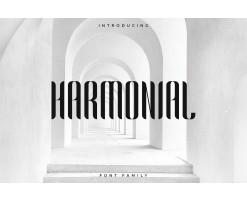 Harmonial Police d'écriture - Sans Serif