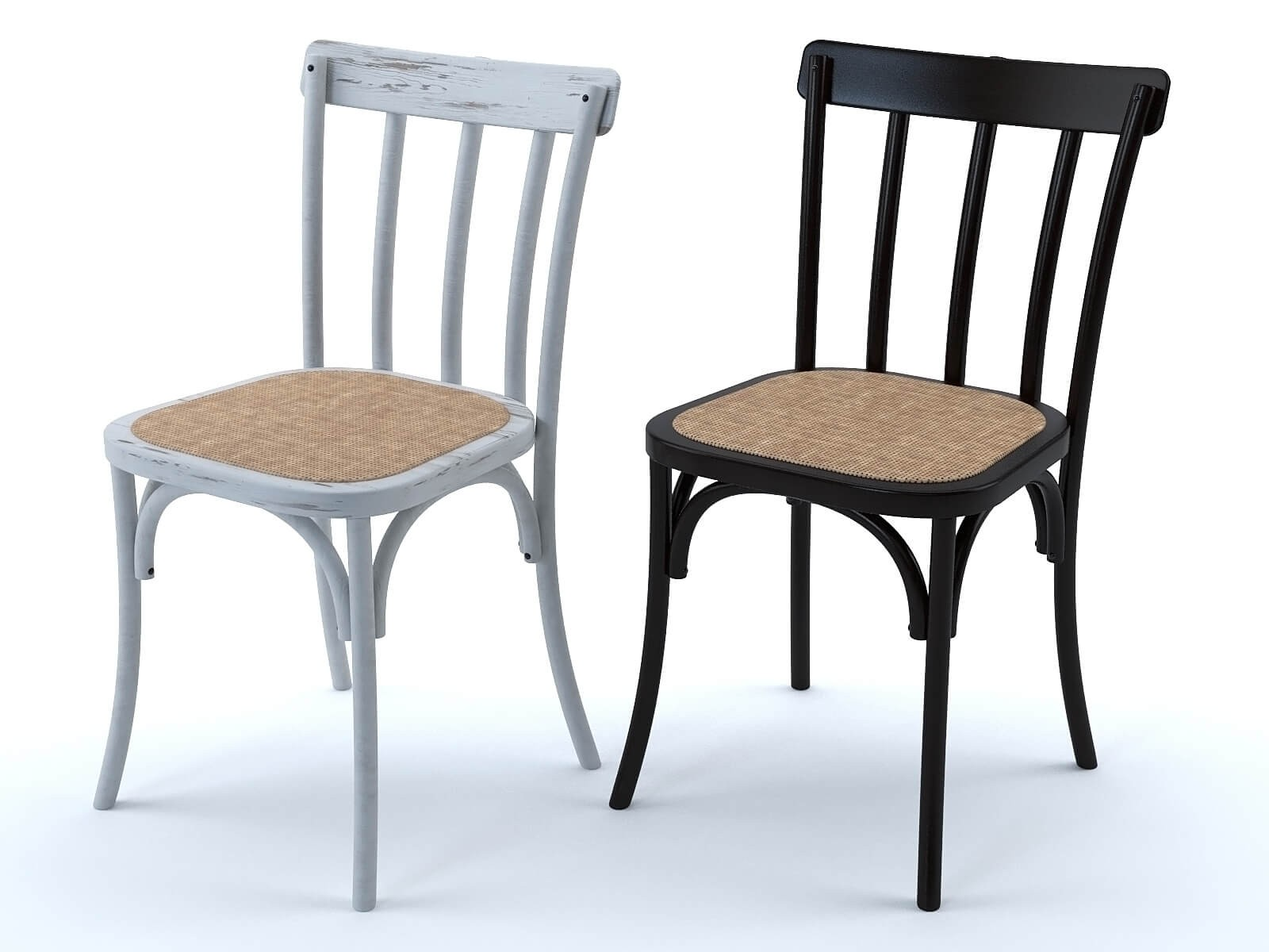 Chaises Bistrot (lot de 2)