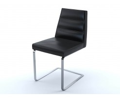 Black leather Ellison chair